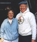 Ev and Jean Beuerman at Big Basin in 1996